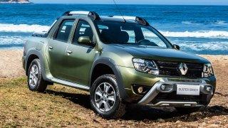 Duster se jako pickup prodává v Brazílii.