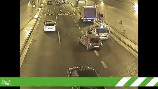 TSK vyrobila nové akční video z kuriózních nehod v tunelu Blanka. Doplnila ho vtipnými komentáři