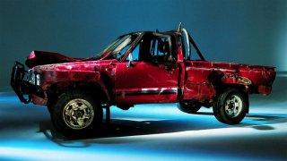 Toyota Hilux po zásahu Top Gearu