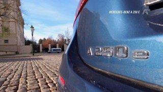 Recenze Mercedesu-Benz A 250 e