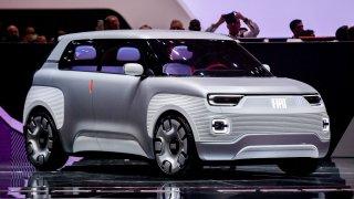 Concept Centoventi - elektrická mobilita v režii Fiatu