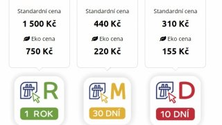 Nové elektronické dálniční známky mohou být pastí. Překlep při zadání RZ je může znehodnotit