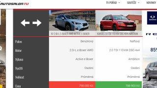 Hybridní Subaru XV, nebo naftová Škoda Karoq. Cena obou aut ve srovnatelné verzi je téměř totožná