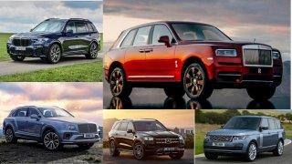 Porovnali jsme BMW X7 s dalšími obřími a luxusními SUV. Existují ještě mnohem opulentnější auta