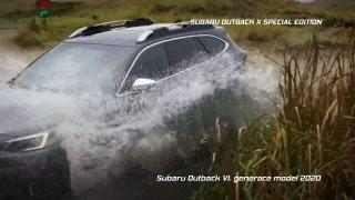 Recenze křížence kombíku a SUV Subaru Outback X Special Edition