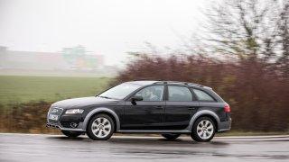 Audi A4 Allroad 2.0 TDI CR jízda 1