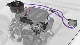 BMW 48V mild-hybrid