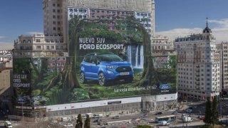 Ford si pořídil největší billboard na světě