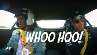 Dva nejrychlejší muži světa a divoký Mercedes. Ham