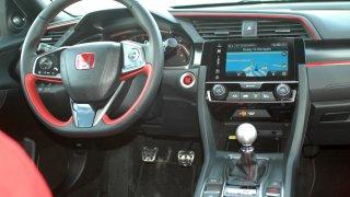 Honda Civic Type R interier 2