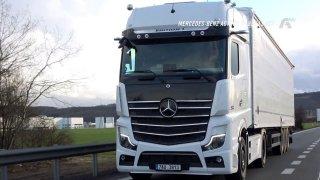 Test tahače Mercedes-Benz Actros