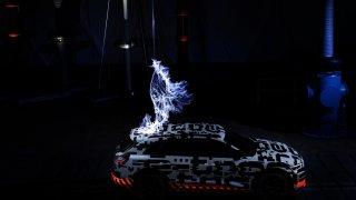 Audi e-tron ve Faradayově kleci 4