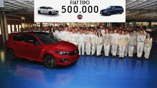 Půl milionu vozů Fiat Tipo