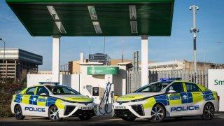 Toyota Mirai pro policii  v Londýně