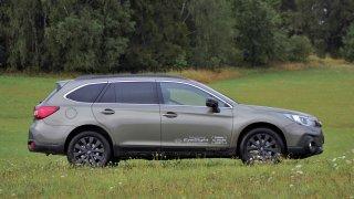 Subaru Outback v testu spotřeby excelovalo. Řeklo si o menší množství paliva, než udává výrobce