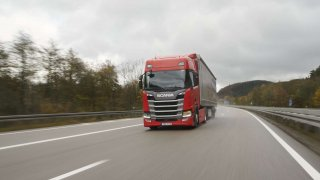 Scania test vozidel