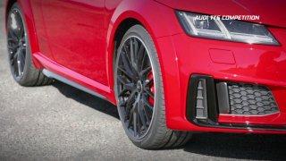 Sportovní kupé Audi TTS Competition na ostrově Man