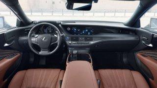 Lexus LS 500h Alexa