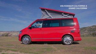 Recenze obytných vozů VW California a VW Grand California