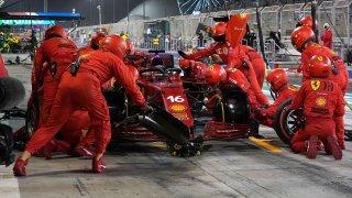 Formule 1 pit stop