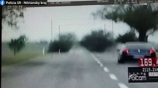 Na Slovensku chytili fabii. Policie jí naměřila rychlost, které teoreticky nemůže dosáhnout