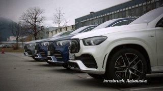 Recenze SUV Mercedes-AMG GLE kupé 53 4MATIC+ a dodávky Sprinter Van 316 CDI 4x4