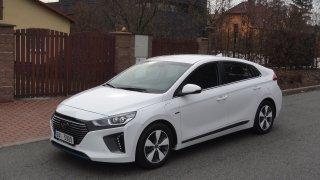Hyundai Ioniq PHEV - exteriér 2