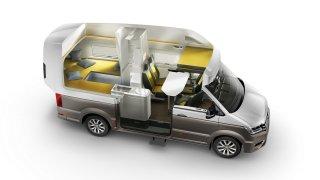 Volkswagen California XXL nabízí cestovatelům doko