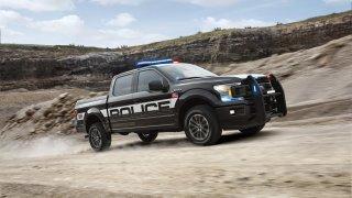 Působivý offroad Ford F-150 v policejním provedení