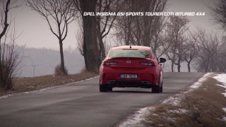 Test manažerského liftbacku Opel Insignia GSI Sports Tourer CDTI BiTurbo 4x4