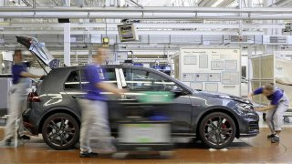 Volkswagen Golf výroba