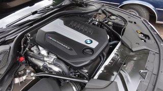 BMW M550d interier  1