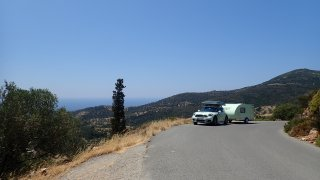 Mini Countryman a Minikaravan opouští pobřeži