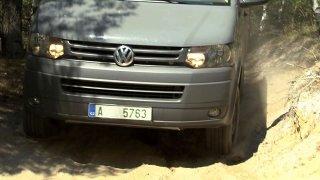 Volkswagen Transporter, který vyjede nesmysl a jeho interiér vystříkáte hadicí, má jméno Rockton