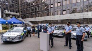 Policejní Hyundai Ioniq Electric