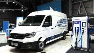 Volkswagen Užitkové vozy představuje na e-Salonu v Letňanech nový e-Crafter