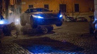 GALERIE: Prohlédněte si auta znového Jamese Bonda