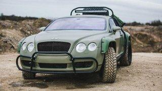 Udělat z luxusního Bentley Coninental GT drsný off