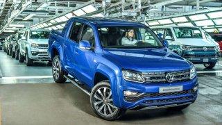 Volkswagen Amarok s novým motorem už sjíždí z výrobní linky
