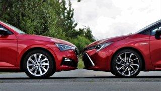 Škoda Scala 1.5 TSI DSG vs. Toyota Corolla 1.8 Hybrid - srovnávací test, jehož výsledky překvapily