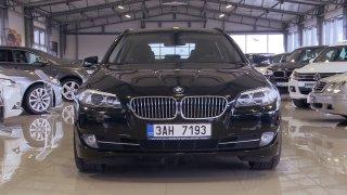 Luxus a rychlost! Test ojetého BMW 5 1