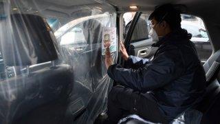 Taxikář v Číně