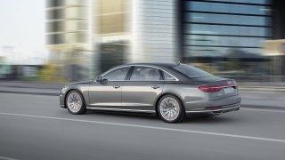 Nové Audi A8 v prodloužené luxusní verzi L. 1