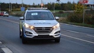 Policie předvedla nové vozy Hyundai Tucson. 2