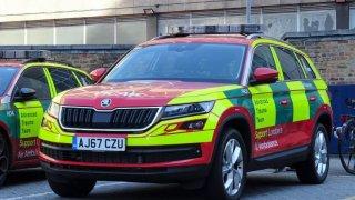 Londýnská záchranka také vsadila na škodu kodiaq