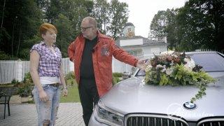 BMW 760 Li M Performance a svatební kytice