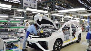 Toyota Mirai výroba