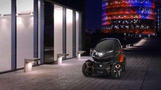 Vize budoucnosti městské mobility. Seat Minimó.