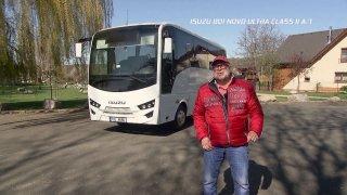 Test autobusu Isuzu 801 Novo Ultra Class II A/T