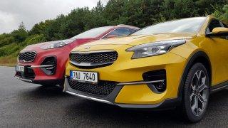 Sportage, nebo XCeed? Plnohodnotné SUV vs. auto, které si na něj hraje, ale je sexy a skvěle jezdí